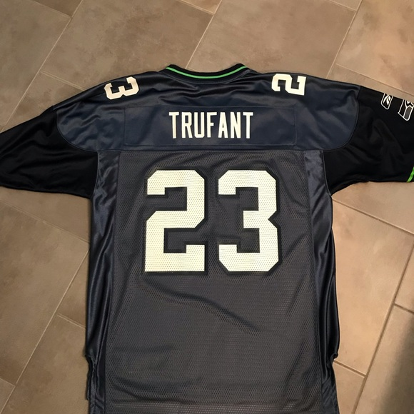 size 40 a7ff1 4a040 Seattle Seahawks Marcus Trufant Jersey